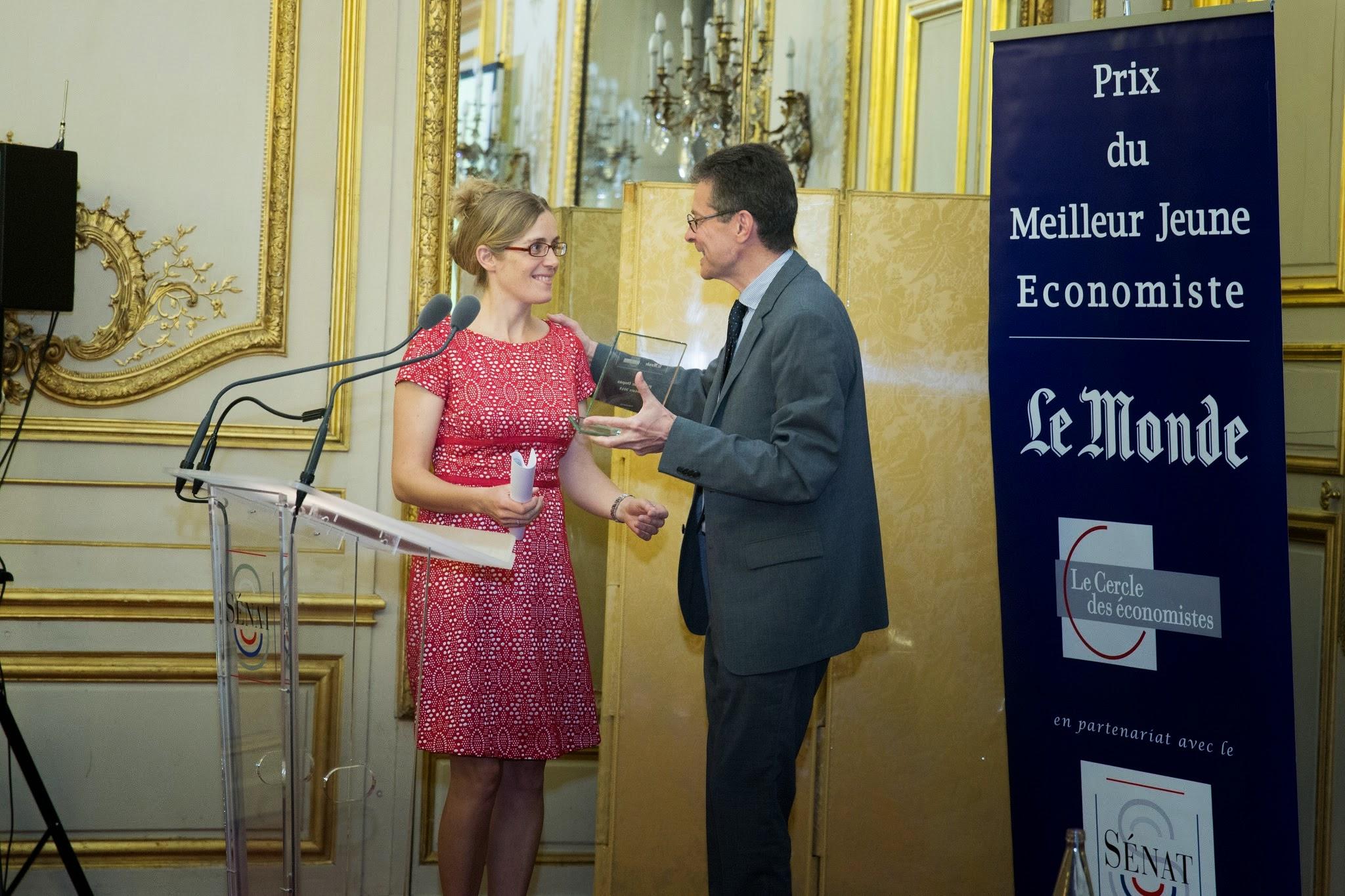 Prix du meilleur jeune economiste 2015 le cercle des conomistes - Prix du meilleur architecte ...