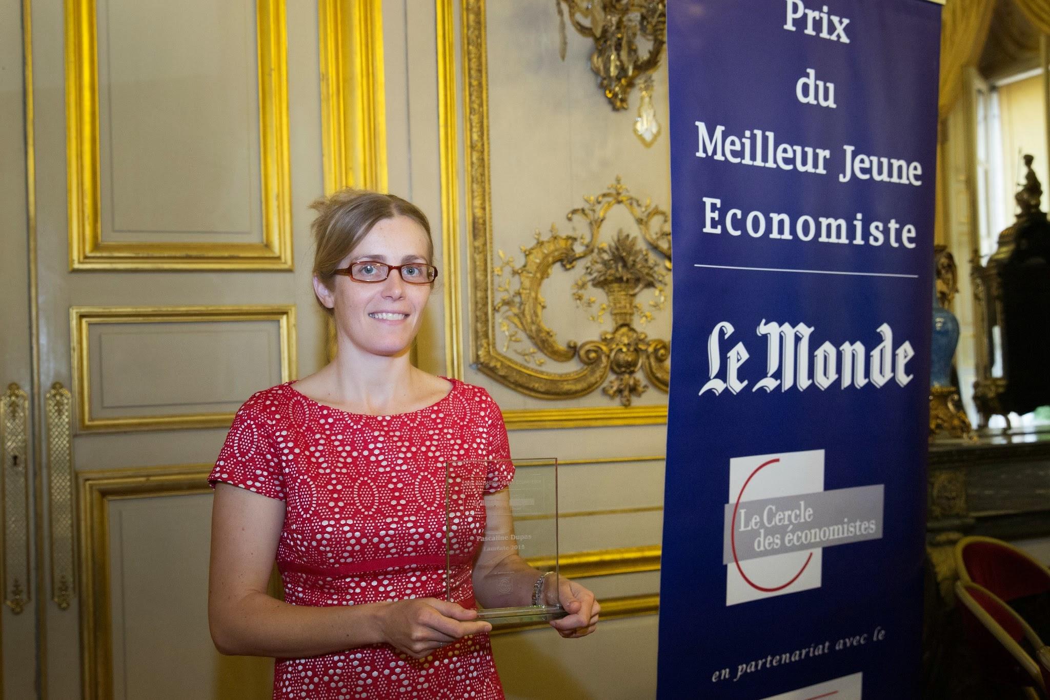 prix du meilleur jeune economiste 2015