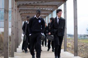 Des élèves de l'internat d'excellence de Sourdun