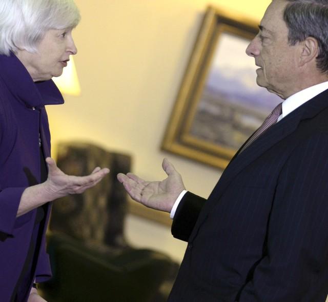 Zone euro des taux d'intérêts