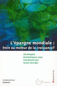couv-chroniques économiques 2005