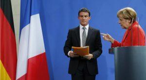 """En visite à Berlin, Manuel Valls déclare : """"Je veux dire aux Allemands : les réformes, nous allons les faire"""""""