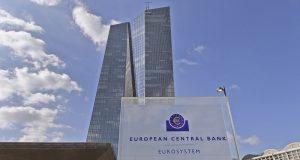 Deutschland, Frankfurt, 12.03.2015 Der Neubau der EZB (Europaeische Zentralbank)   Germany, Frankfurt, 03.12.2015 The new ECB (European Central Bank)   [Copyright by: Sepp Spiegl, Tel.: 0228 9483026, Fax.: 0228 9483027 {53129 Bonn, Moselweg 32, Deutsche Bank-Bonn, Kto.: 314967101, Blz.: 38070059]/PHOTOWEB_1656.10/Credit:Sepp Spiegl/PHOTOWEB/SIPA/1503131703