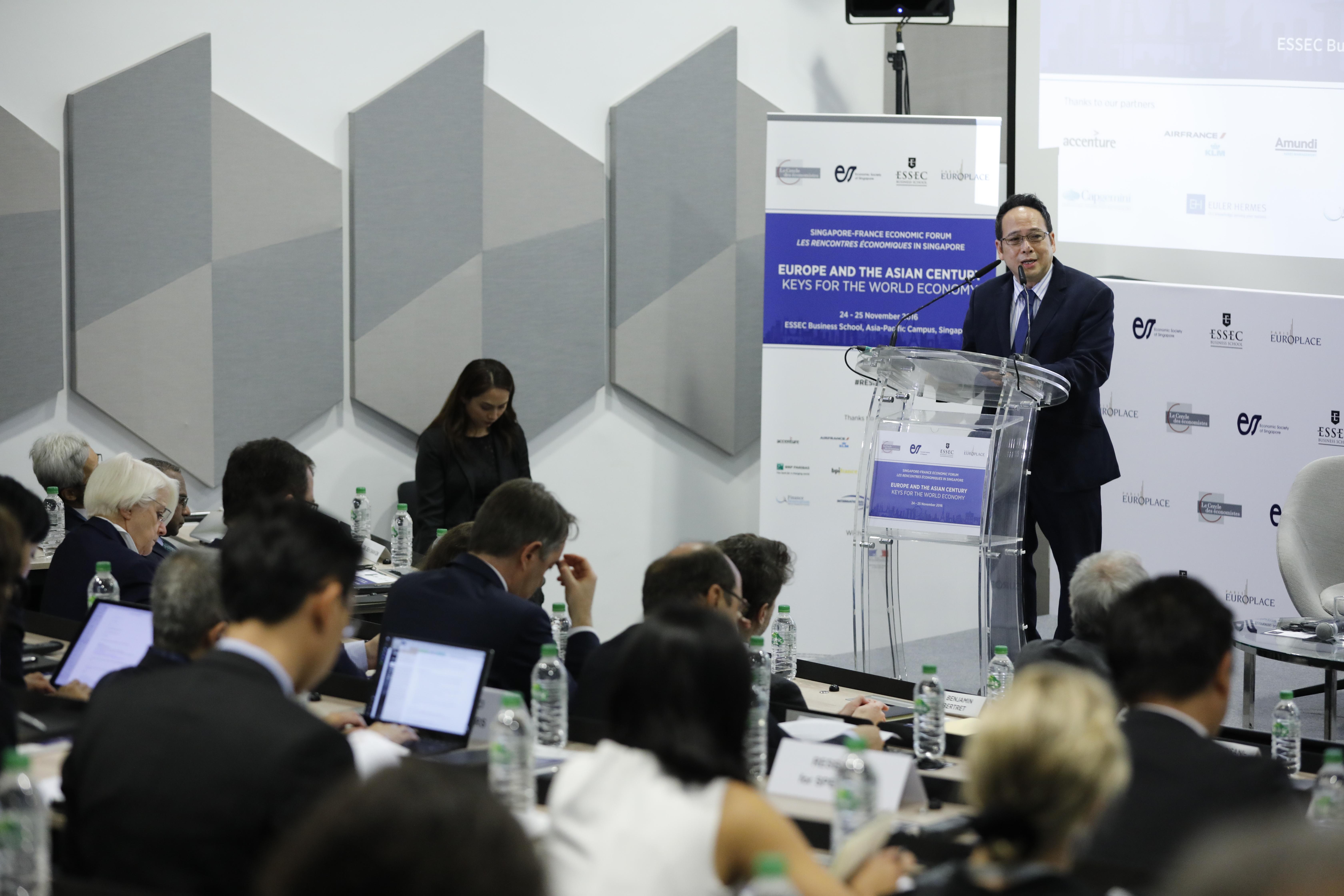 Rencontres Économiques in Singapore - Le Cercle des Économistes